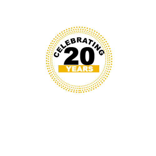 20 years stamp